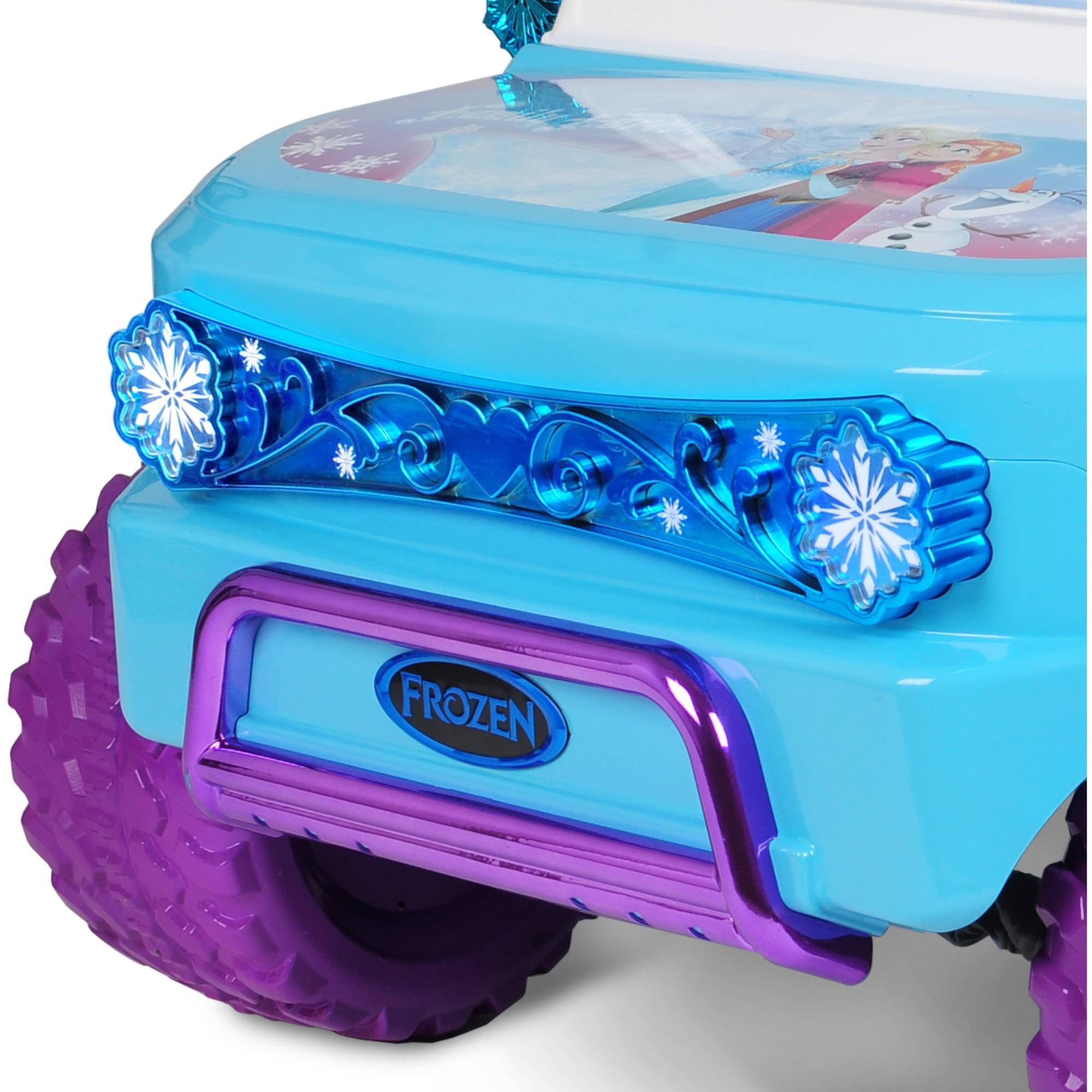 Disney Frozen SUV 12V Battery-Operated Ride-On - Walmart.com