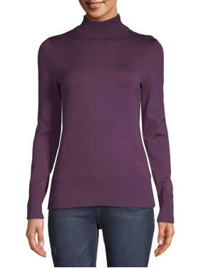 Time and Tru Women's Turtleneck Sweater