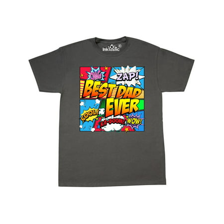 Best Dad Ever Comic Book T-Shirt