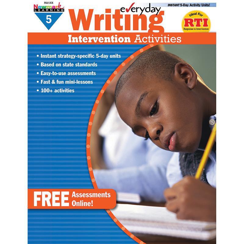 Everyday Writing Intervention Activities Grade 5