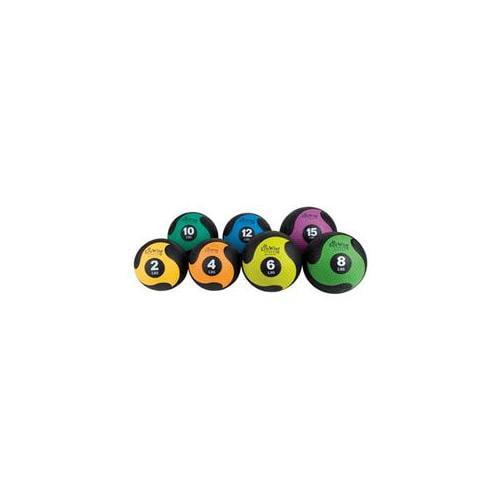 AGM Group 85746 EcoWise Deluxe Medicine Ball - Blue Dahlia