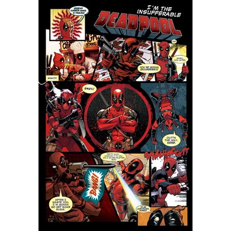 Deadpool - Marvel Comics Poster / Print (Panels - I'm The Insufferable Deadpool) (Size: 24