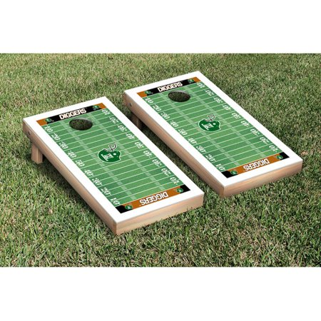 Victory Tailgate NIAI Montana Tech Orediggers Football Field Version Cornhole Game Set
