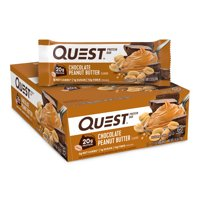 Quest Protein Bar, Chocolate Peanut Butter, 20g Protein, 12 Ct
