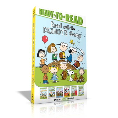 Charlie Brown And Lucy Football - Read with the Peanuts Gang : Time for School, Charlie Brown; Make a Trade, Charlie Brown!; Peppermint Patty Goes to Camp; Lucy Knows Best; Linus Gets Glasses; Snoopy and Woodstock