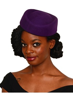 e92fbdaf Product Image Stewardess Style Oval Pillbox Hat - Cocktail, Party, Wedding,  Church