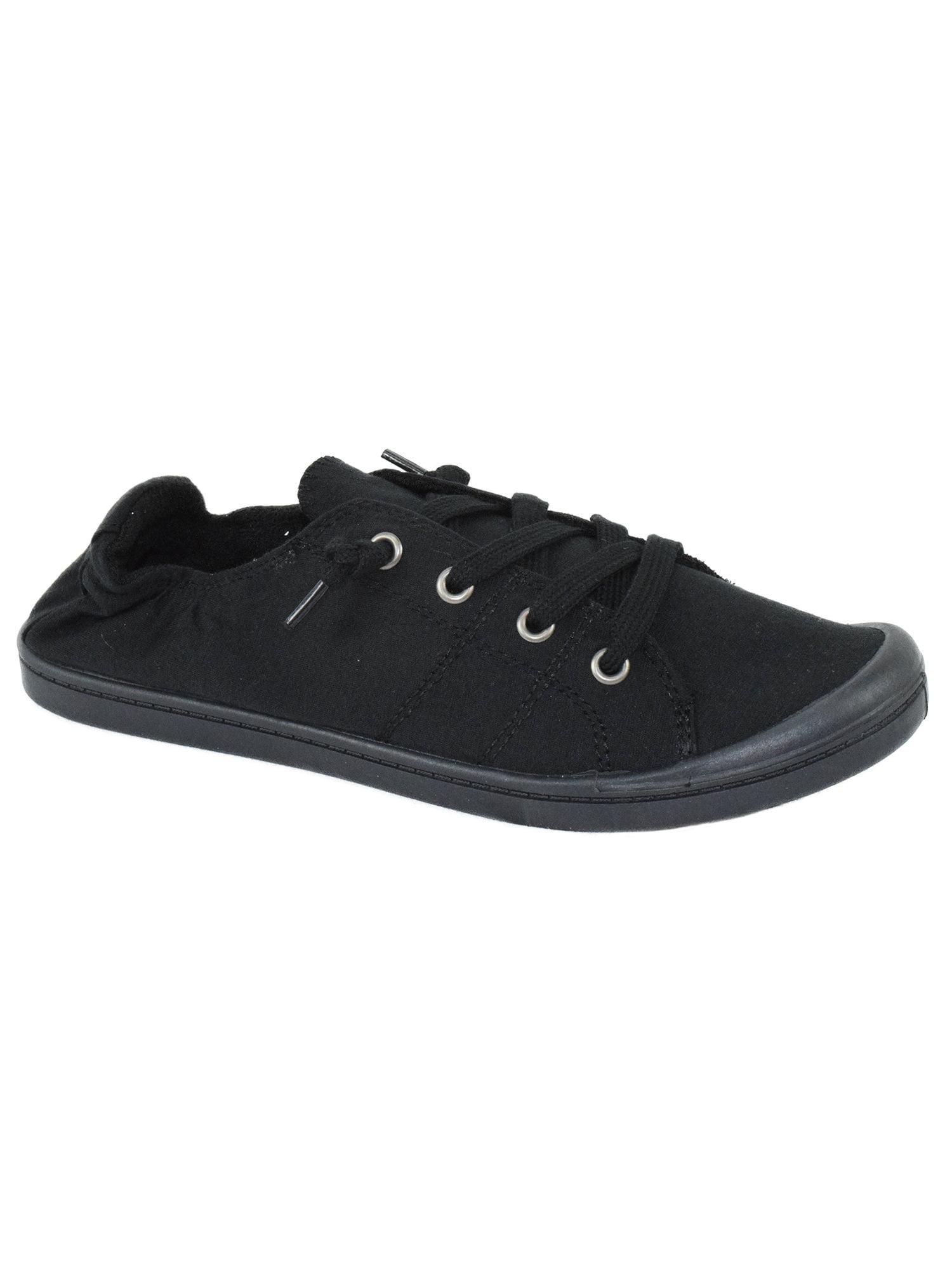 Zig All Black Women Soda Shoes Flat