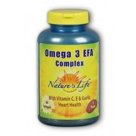 Omega Iii Essential Fatty Acids Natures Life 90 Softgel