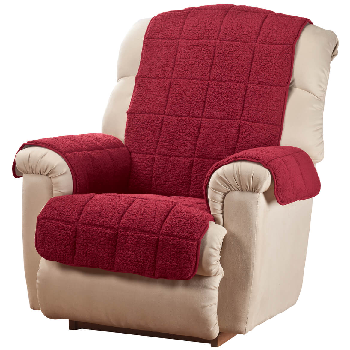 Waterproof Quilted Sherpa Recliner Cover by OakRidgeTM