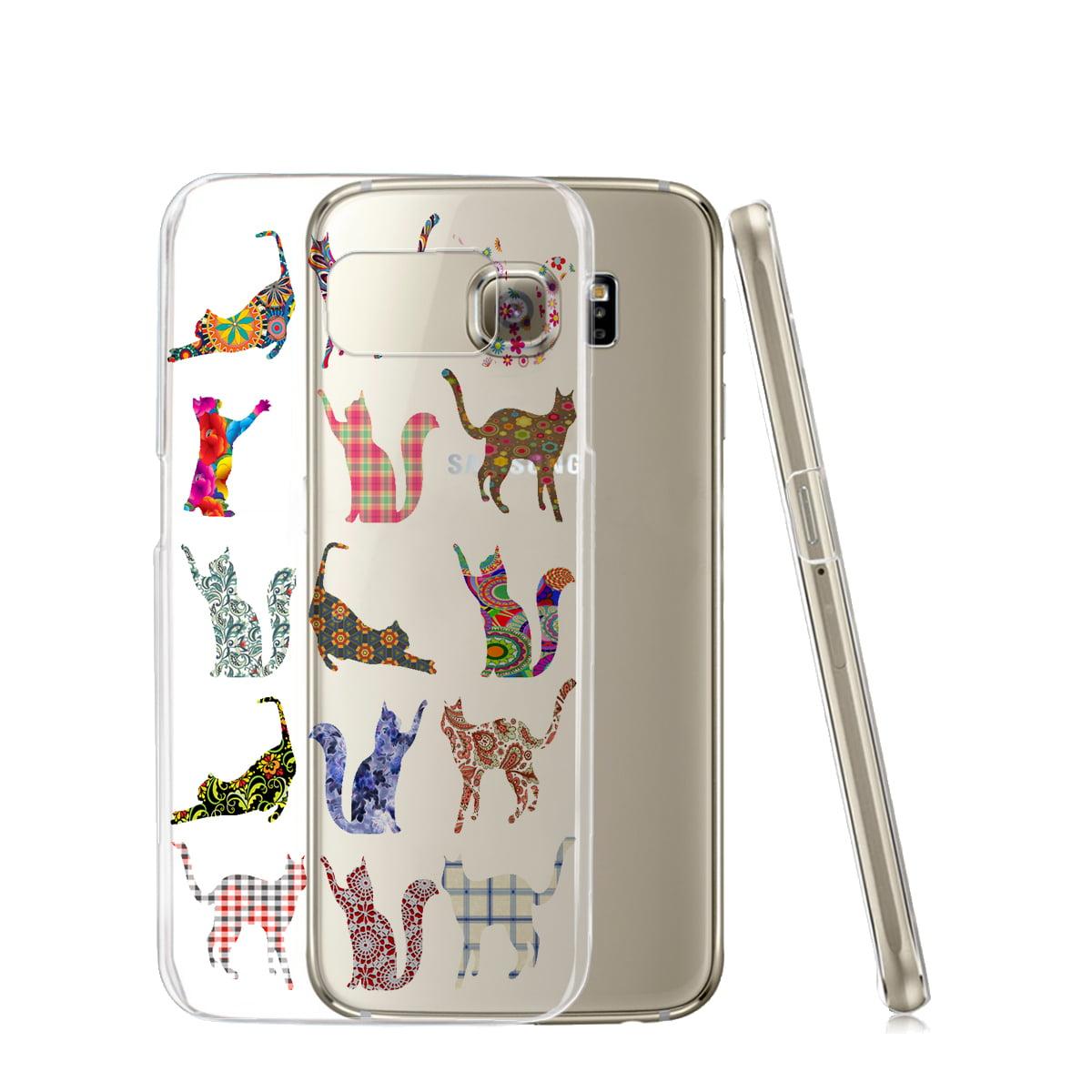 KuzmarK™ Samsung Galaxy S6 Edge Clear Cover Case - Kitty Cat