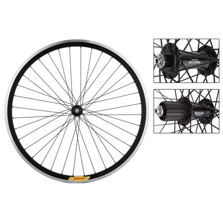 - Velocity Deep-V Road Bike Wheelset 700c Black 8/9/10/11-Speed