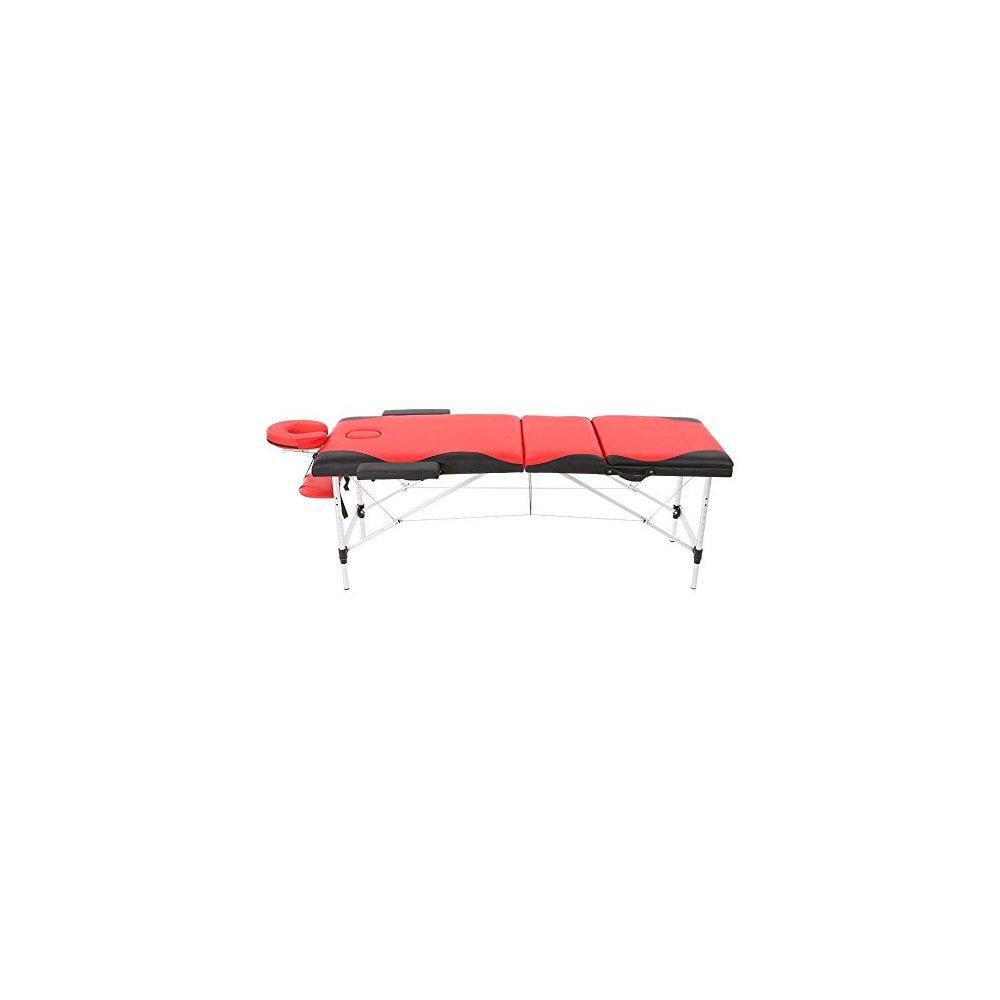 Abody portable massage table 3 fold hardwood frame adjustable spa bed tattoo beauty salon 84
