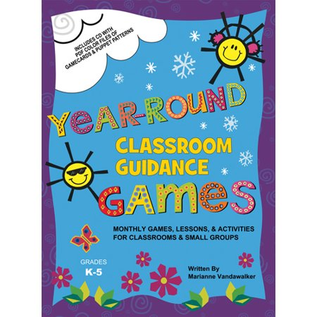 Year-Round Classroom Guidance Games (K-5)