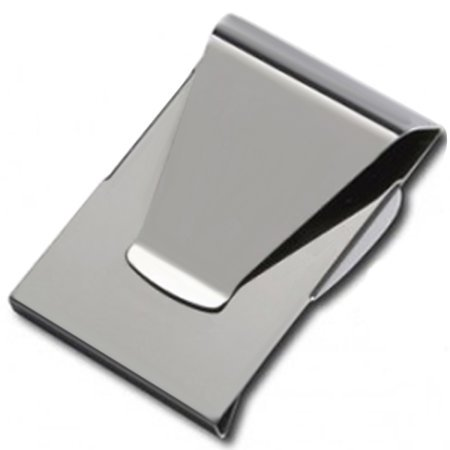 Slim Clip - Double Sided Money Clip! (Chrome) (Classic Money Clip)