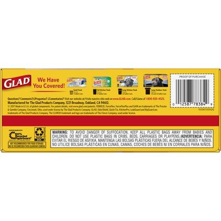 Best Glad Tall Kitchen Drawstring Trash Bags - 13 Gallon - 22 ct deal