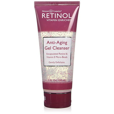 Skincare Retinol Anti-Aging Cleanser Gel 5 Oz Tube (145ml)