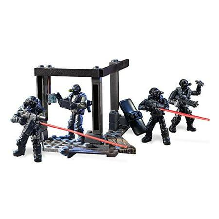 Mega Construx Call of Duty Night Ops Blackout Squad Building (Mega Bloks In The Night Garden Building Bucket)