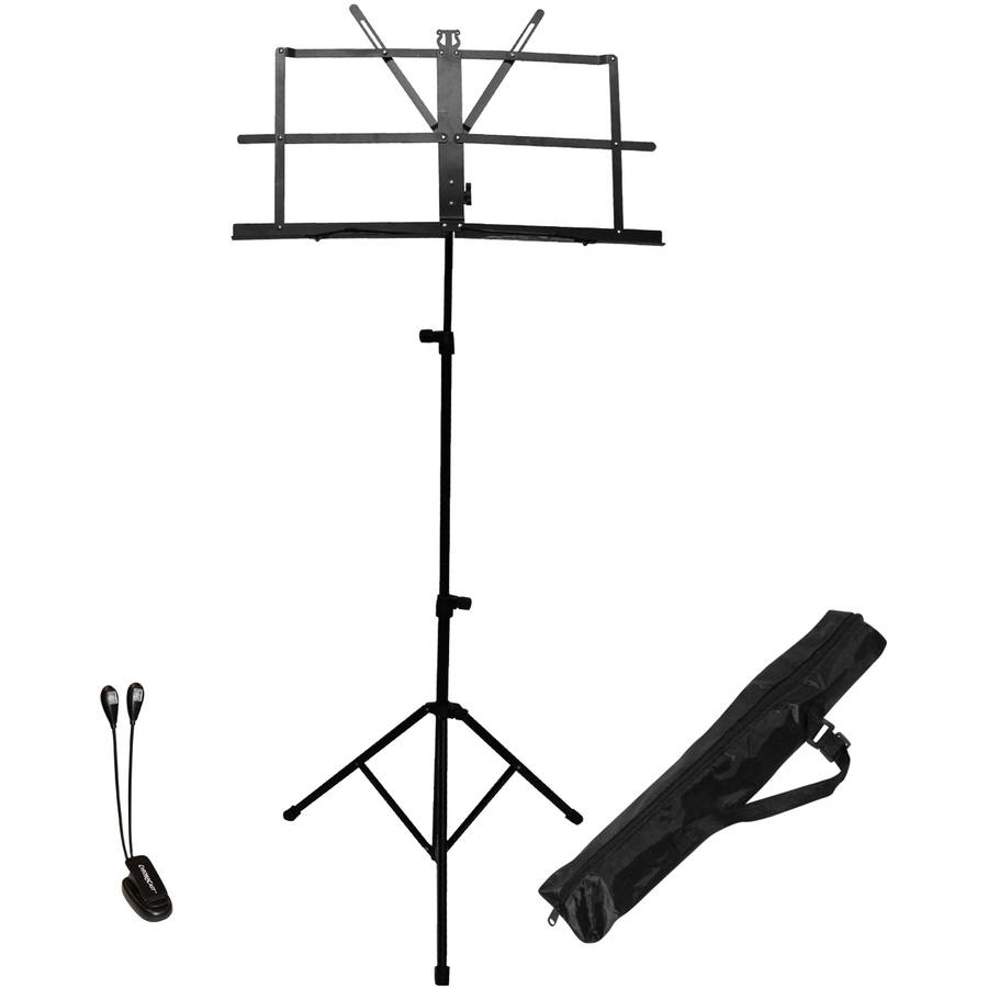 ChromaCast Folding Music Stand Performer's Pack by