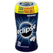 Eclipse Gum, Winterfrost, Sugar Free, 120 Piece Bottle