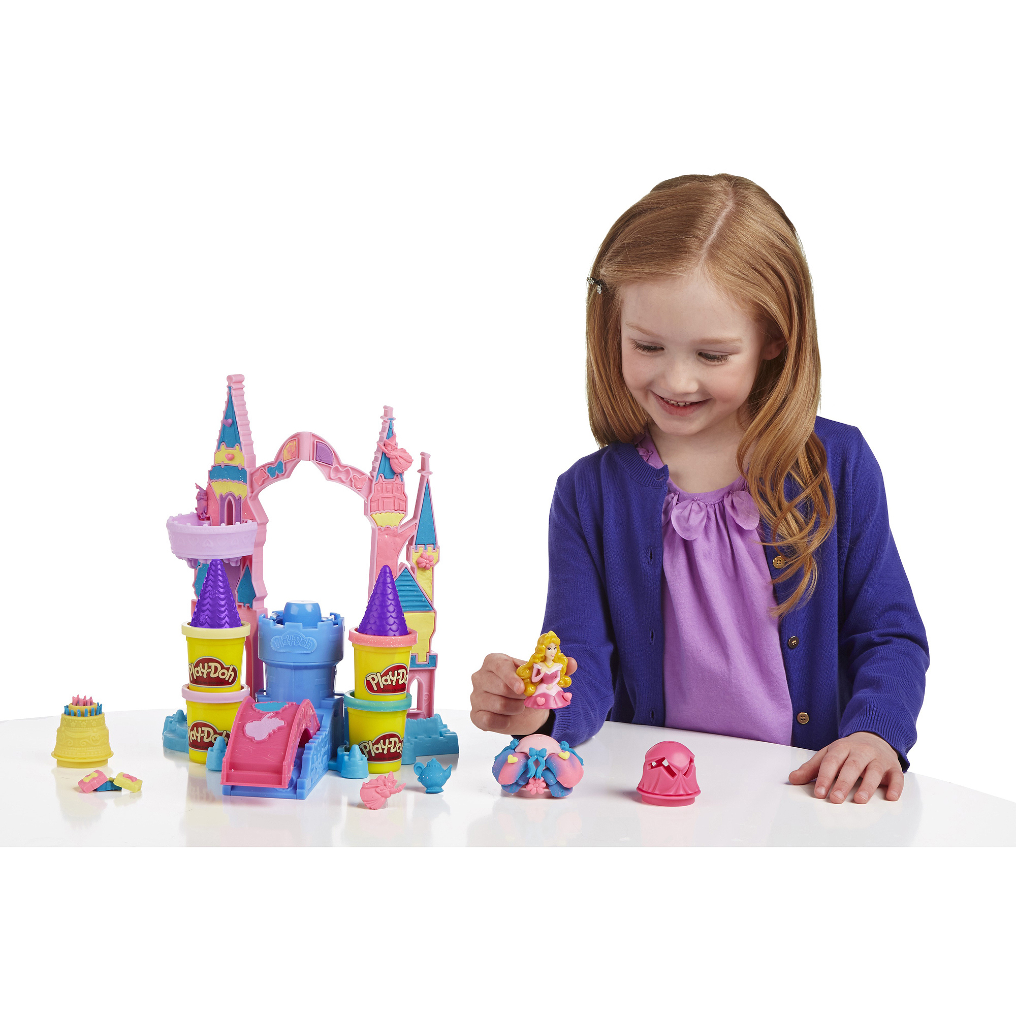 Play-Doh Mix 'n Match Magical Designs Palace Set, Disney Princess Aurora