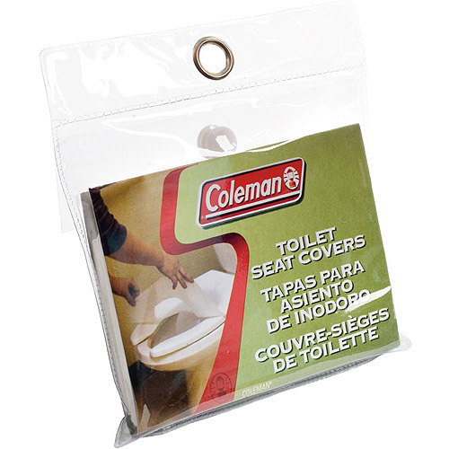 Coleman Toilet Seat Cover (10-Pack)