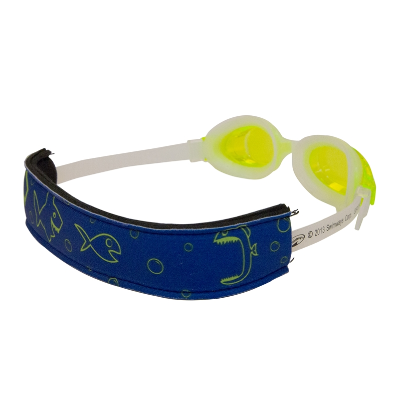 Swimways Gogglemate Swim Goggles for Kids with Strap Green by