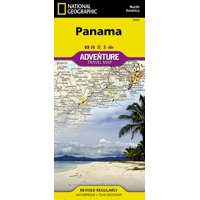 Adventure map: panama - folded map: 9781566952606