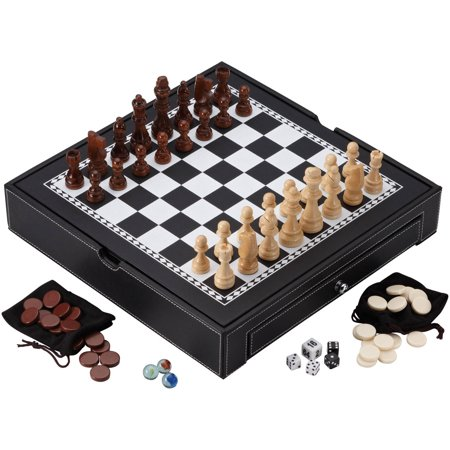 Mainstreet Classics Chess, Checkers, Backgammon and Chinese Checkers