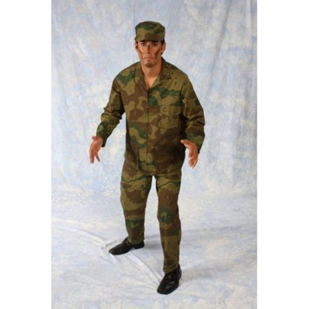 Army Man Costume - Male Army Costume