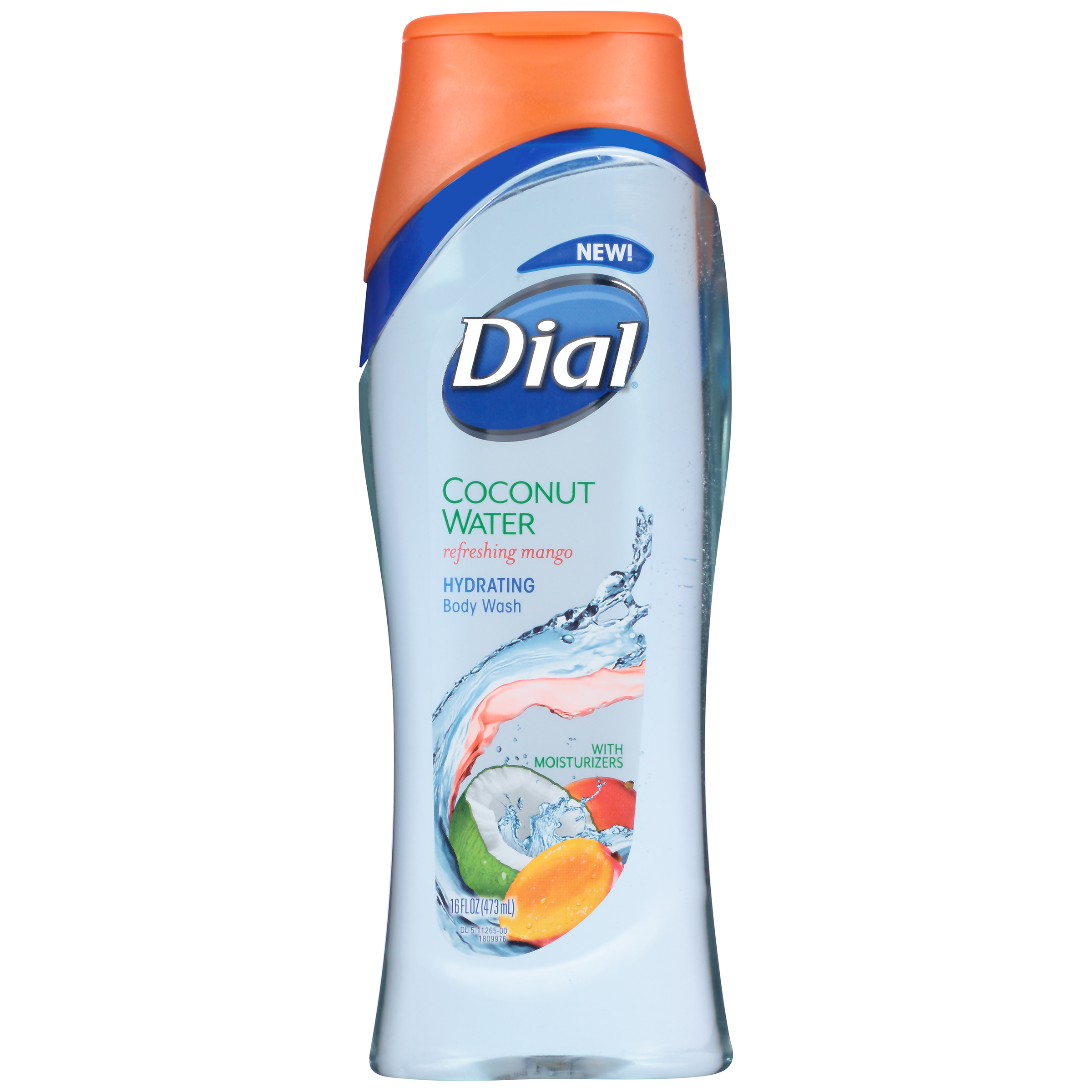 Dial Body Wash, Coconut Water & Mango, 16 Ounce