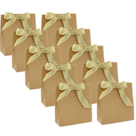 30 CUTE PAPER FAVOR PARTY GIFT BAGS WITH ENVELOPE ENCLOSURE GOLD-TONE GLITTER](Paper Party Favor Bags)