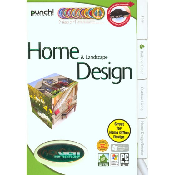 Punch! Home & Landscape Design with NexGen Technology - Walmart.com