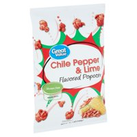 Great Value Chile Pepper & Lime Flavored Popcorn, 6.7 oz