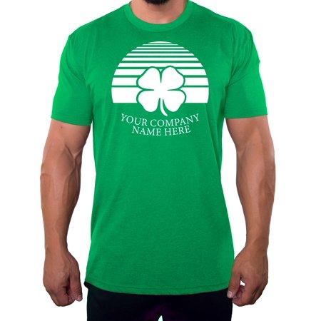 74840c25f Custom St Patrick's Day T-shirts Funny Shirts Personalized St Patty's Day  Shirts - Shamrock - Walmart.com