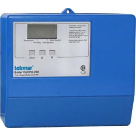 Stage Boiler - Tekmar 260 Boiler Control (1 Stage Boiler & 1 Stage DHW)