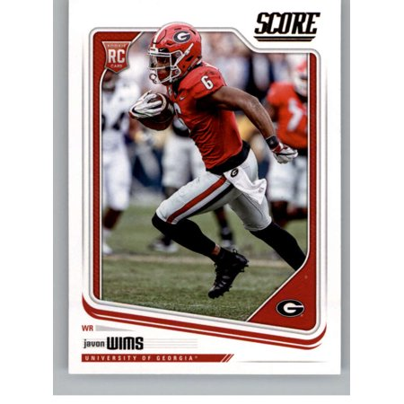 2018 Score #421 Javon Wims Georgia Bulldogs Football Card
