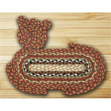 Earth Rugs 63-C300 Cat Shaped Rug - Honey, Vanilla and Ginger