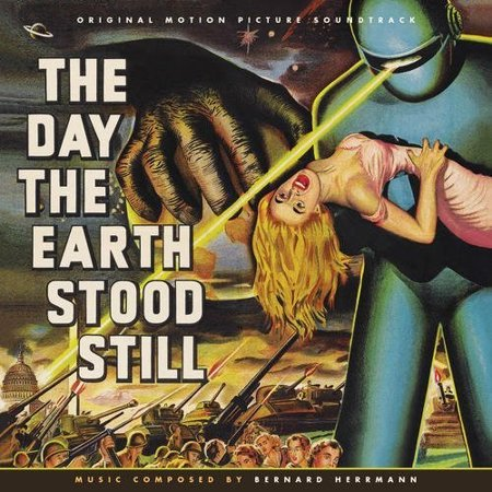 The Day The Earth Stood Still (Original Soundtracks) (CD) (Limited (The Day The Earth Stood Still Music)