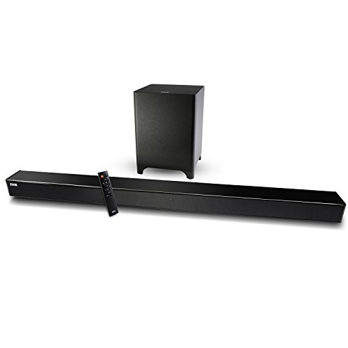 LyxPro Sound Bar System Bluetooth Soundbar Speaker Plus Wireless Subwoofer for TV, Home Theater, PC,... by LyxPro