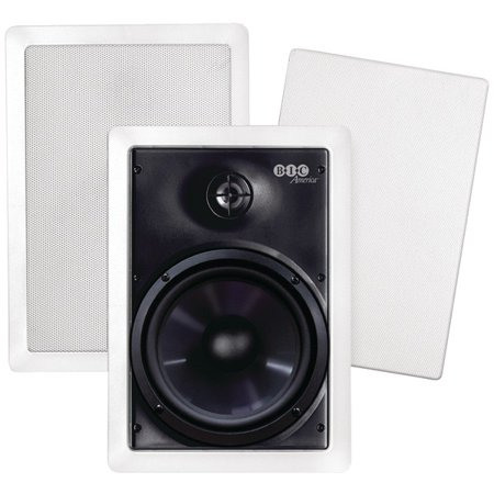 Bic America M Pro6w 6 5  Weather Resistant In Wall Speakers