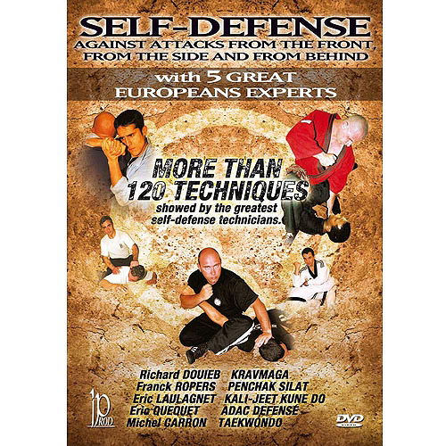 Self-Defense Against Attacks From The Front, From The Side And From Behind
