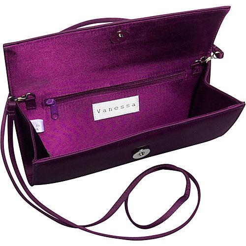 Vanessa Satin Evening Bag