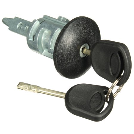 FORD TRANSIT MK6 2000-2006 FRONT RIGHT DRIVERS SIDE DOOR LOCK BARREL + 2 KEYS - image 2 of 8