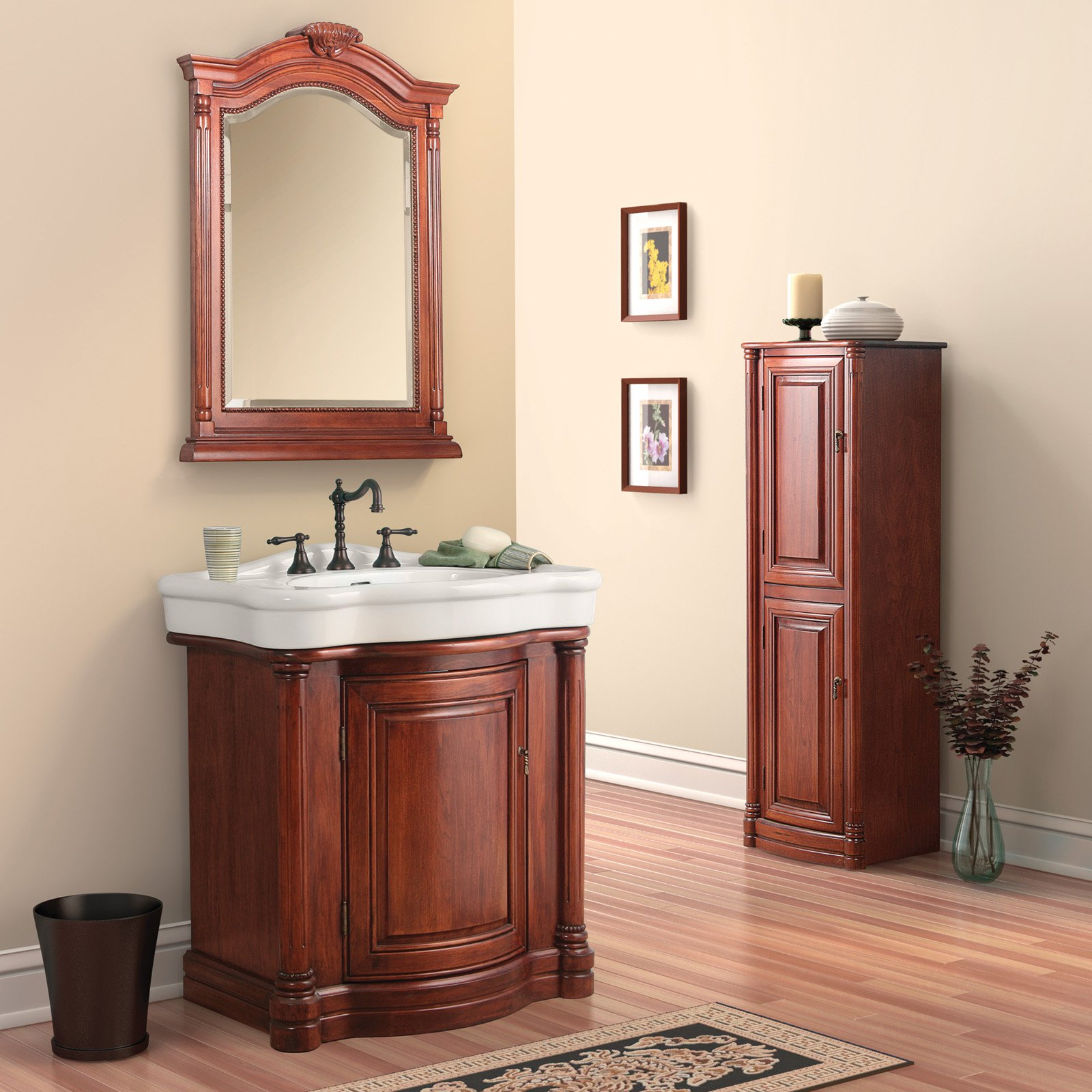 Foremost Wingate Bathroom Floor Cabinet