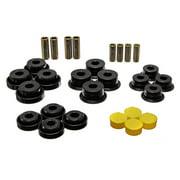 Energy Suspension 97-06 Jeep Wrangler TJ Blk Rear Control Arm Bushings (Must reuse OEM Outer Shells