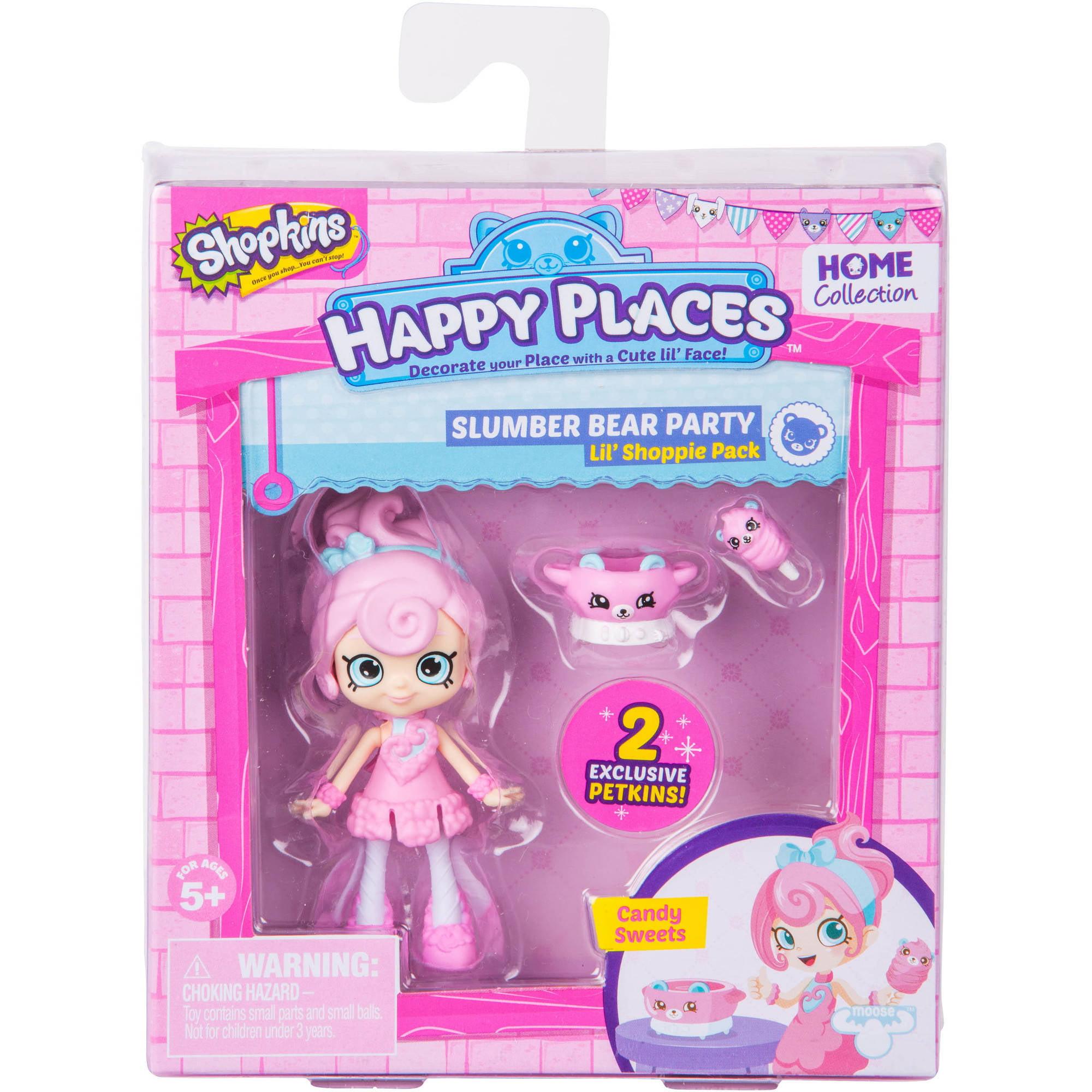 Happy Places Shopkins S2 Doll, Cotton Sweets