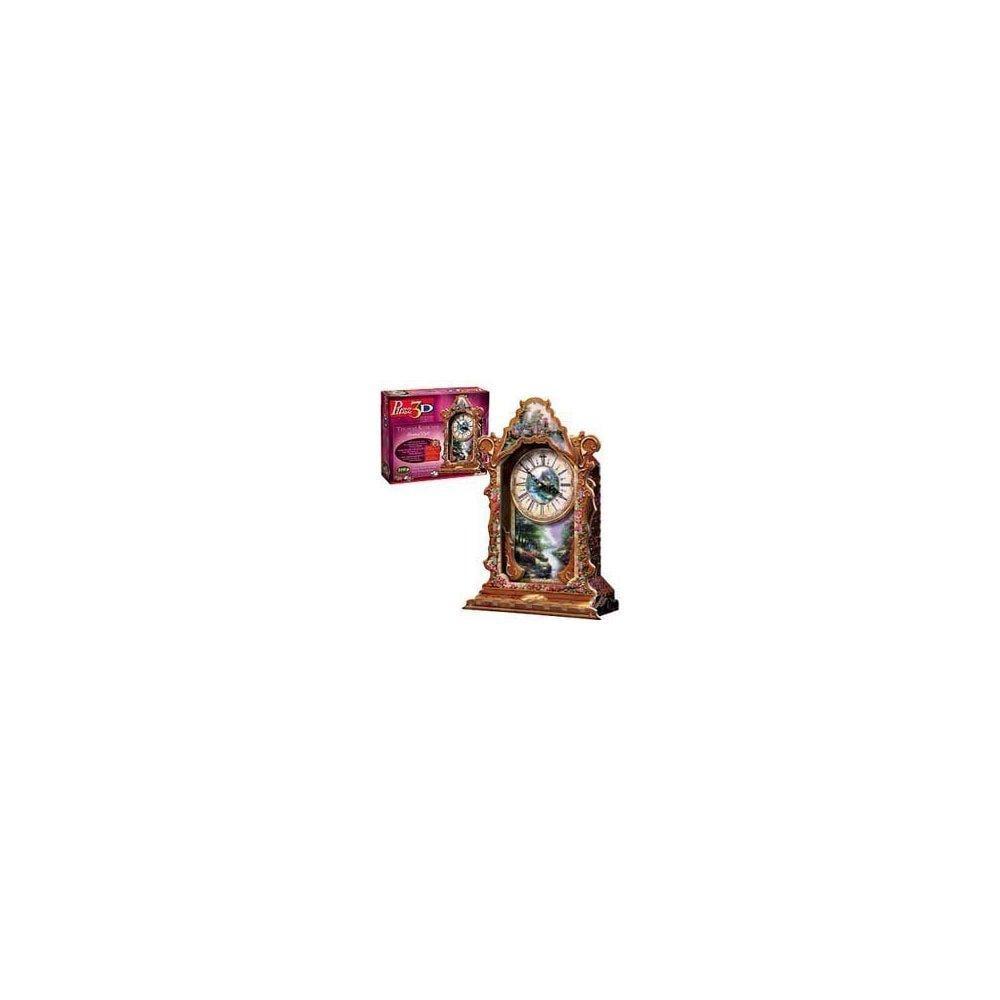 Thomas Kinkade Clock, 219 Piece 3D Jigsaw Puzzle Made by ...