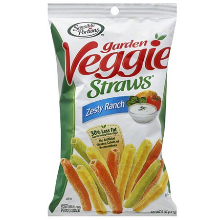 Sensible portions zesty ranch garden veggie straws 5 oz - Sensible portions garden veggie chips ...