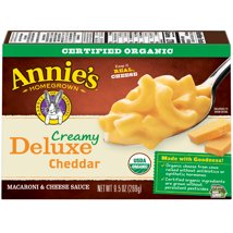 Mac & Cheese: Annie's Deluxe Organic