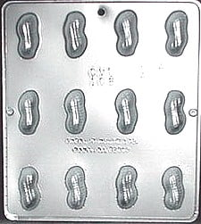 108 Peanut Chocolate Candy Mold by